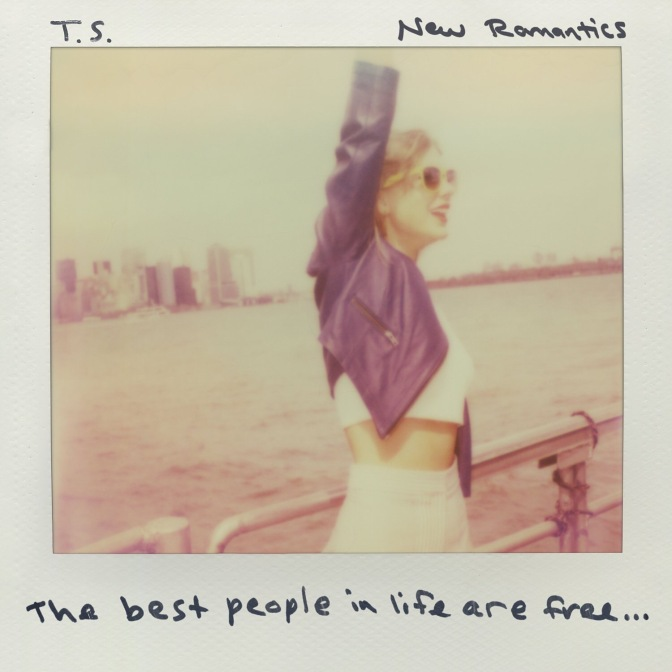 """New Romantics"" Is Taylor Swift's New Single!"